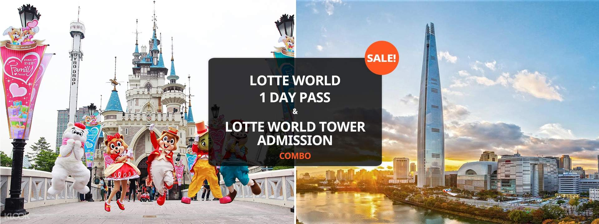 Lotte World 1 Day Pass and Lotte World Tower Admission